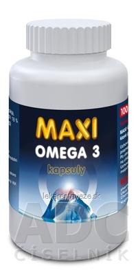 MAXI OMEGA 3 kapsuly cps 1x100 ks