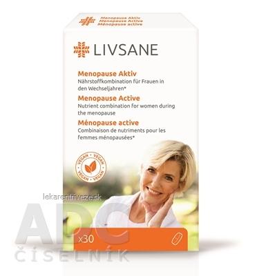 LIVSANE Podpora pre ženy v klimaktériu tbl 1x30 ks