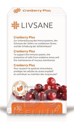 LIVSANE Brusnice Plus cps 1x30 ks