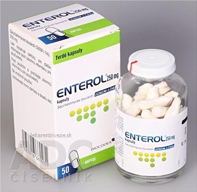 Enterol 250 mg kapsuly cps dur (fľ.skl.) 1x50 ks
