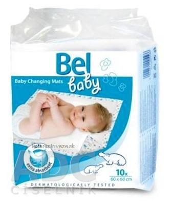 Bel baby prebaľovacie podložky (60x60 cm) 1x10 ks