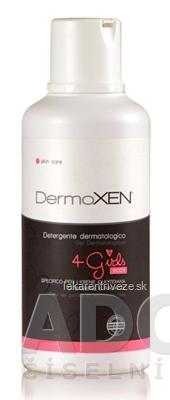 DermoXEN 4 Girls BODY telové tekuté mydlo, gél 1x500 ml