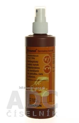 Braunol sol der (spray) 1x250 ml