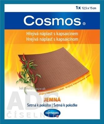 COSMOS Hrejivá náplasť s kapsaicínom JEMNÁ (12,5x15 cm) 1x1 ks