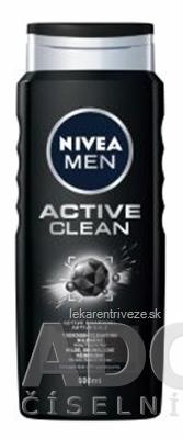 NIVEA MEN Sprchový gél ACTIVE CLEAN 1x500 ml