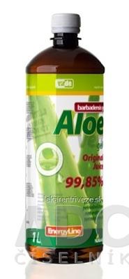 VIRDE ALOE VERA barbadensis gél original juice 1x1 l