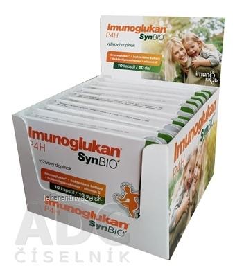 Imunoglukan P4H SynBIO Multipack cps 10x10 (100 ks), 1x1 set