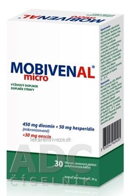 MOBIVENAL micro tbl flm 3x10 (30 ks)
