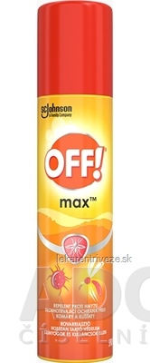 OFF! MAX spray repelent 1x100 ml