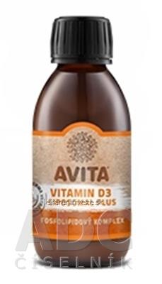 AVITA VITAMIN D3 LIPOSOMAL PLUS fosfolipidový komplex 1x200 ml