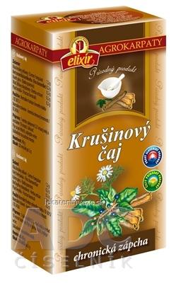 AGROKARPATY Krušinový čaj prírodný produkt, 20x2 g (40 g)