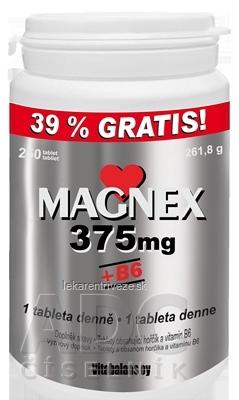 Vitabalans MAGNEX 375 mg + B6 tbl 1x250 ks