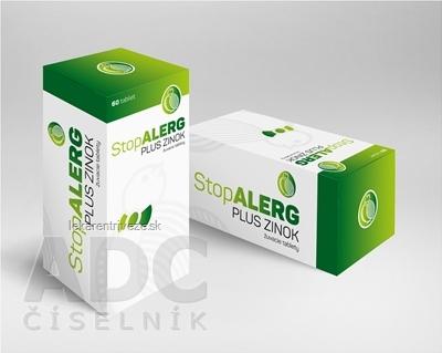 StopALERG PLUS ZINOK žuvacie tablety 1x60 ks