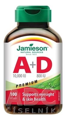 JAMIESON VITAMÍN A + D PREMIUM cps 1x100 ks