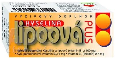 NATURVITA KYSELINA LIPOOVÁ PLUS tbl 1x60 ks