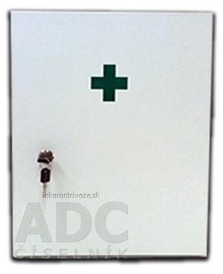 Lekárnička veľká biela závesná 1x1 ks