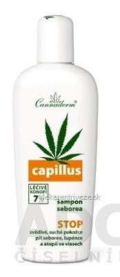 Cannaderm CAPILLUS šampón seborea 1x150 ml