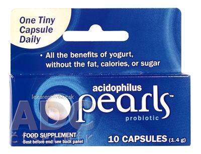 ACIDOPHILUS PEARLS cps 1x10 ks
