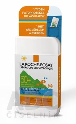 LA ROCHE-POSAY ANTHELIOS Dermo pediatrics POCKET SPF 50+, 1 týždeň fotoprotekcie tváre detí do vášho vrecka (MB070800) 1x30 ml