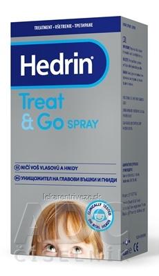 HEDRIN TREAT&GO SPRAY proti všiam a hnidám 1x60 ml