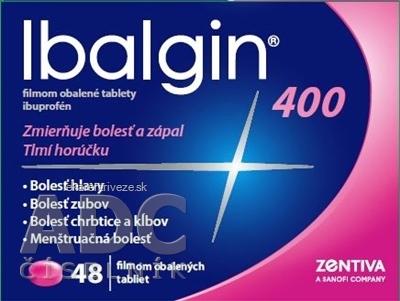 Ibalgin 400 tbl flm (blis. PVC/Al) 1x48 ks