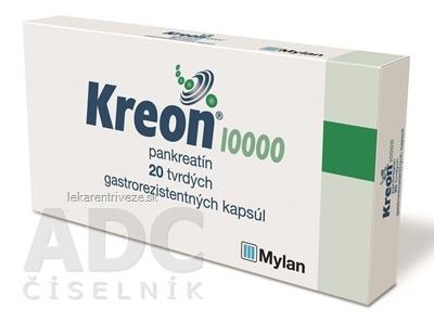 Kreon 10 000 cps end 150 mg (blis.Al/Al) 1x20 ks