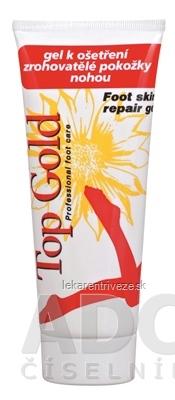 TOP GOLD Gél na ošetrenie zrohovatenej pokožky nôh 1x100 ml