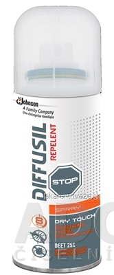 DIFFUSIL REPELENT DRY EFFECT SPRAY 1x100 ml