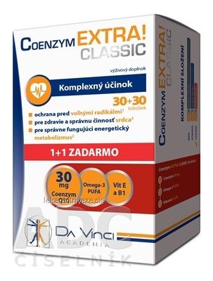 COENZYM EXTRA CLASSIC 30MG - DA VINCI cps 30+30 zadarmo (60 ks)