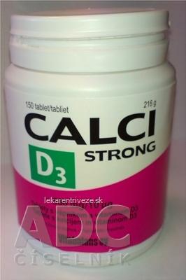 Vitabalans CALCISTRONG+D3 tbl (500 mg/10 mcg) 1x150 ks