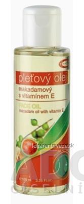 TOPVET pleťový olej MAKADAMIOVÝ s vitamínom E, 1x100 ml