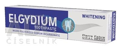 ELGYDIUM WHITENING zubná pasta 1x75 ml