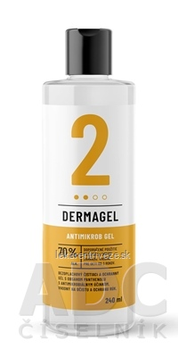 DERMAGEL - Antimikrob gel 1x240 ml