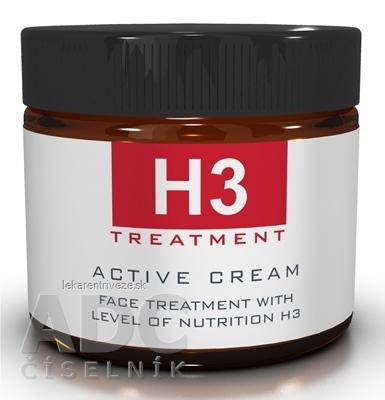 H3 TREATMENT ACTIVE CREAM 24-hodinový aktívny krém na tvár 1x60 ml