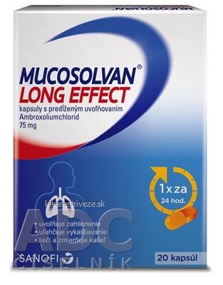 MUCOSOLVAN LONG EFFECT cps plg 75 mg 1x20 ks