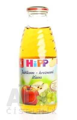 HiPP Šťava jablkovo - hroznová (od ukonč. 4. mesiaca) 1x500 ml
