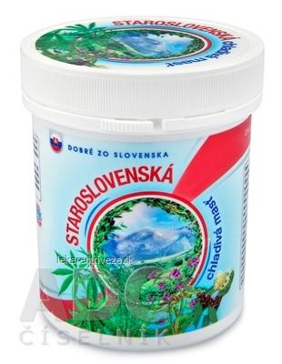 Dobré z SK STAROSLOVENSKÁ chladivá masť masážny prípravok 1x250 ml