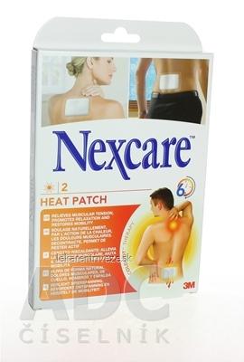 3M Nexcare HEAT PATCH, Náplasť hrejivá 9,5x13 cm, 1x2 ks