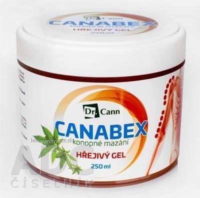 Dr.Cann CANABEX konopné mazanie HREJIVÝ GÉL 1x250 ml