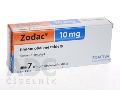Zodac tbl flm 10 mg (blis.PVC/PVDC/Al) 1x7 ks