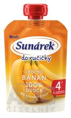 Sunárek Do ručičky BANÁN (od ukonč. 4. mesiaca) 1x100 g
