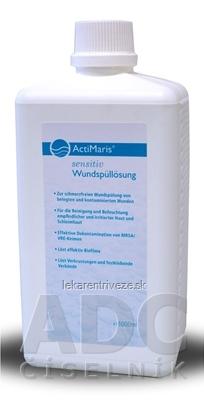 ActiMaris Sensitiv Roztok na výplach a hojenie rán (Wundspüllösung), na kožu a slinice, 1x1000 ml