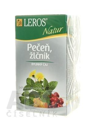 LEROS NATUR PEČEŇ A ŽLČNÍK ČAJ 20x1,5 g (30 g)
