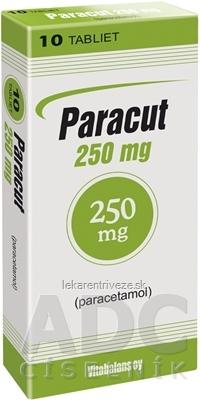 Paracut 250 mg tbl (blis.Al/PVC) 1x10 ks