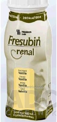 Fresubin Renal sol (príchuť vanila) 4x200 ml (800ml)