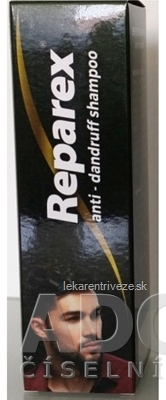 REPAREX šampón proti lupinám unisex 1x125 ml