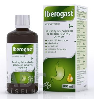 Iberogast sol por (fľ.skl.hnedá) 1x100 ml