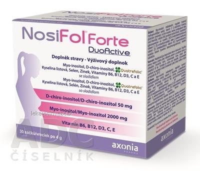 NosiFol Forte DuoActive prášok vo vrecúškach (á 4g) 1x30 ks