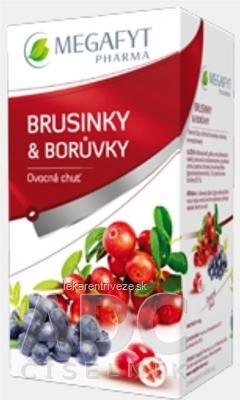 MEGAFYT BRUSNICE & ČUČORIEDKY ovocný čaj 20x2 g (40 g)
