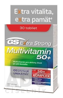 GS Extra Strong Multivitamín 50+ 2017 tbl 1x30 ks